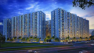 Gallery Cover Image of 1150 Sq.ft 3 BHK Apartment for buy in K Town, Vikas Nagar for 6600000