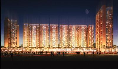 Gallery Cover Image of 1040 Sq.ft 2 BHK Apartment for buy in Akshar Green World, Dighe for 14500000