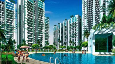 Gallery Cover Image of 1975 Sq.ft 4 BHK Apartment for rent in Supertech Livingston, Crossings Republik for 10000