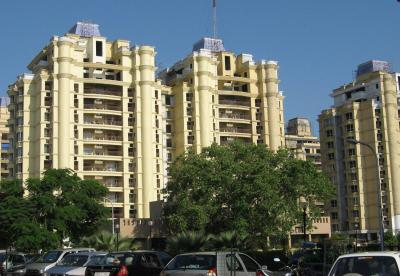 Gallery Cover Image of 1000 Sq.ft 2 BHK Apartment for buy in Shipra Sun Tower, Shipra Suncity for 3050000