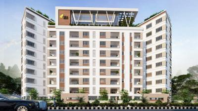 Gallery Cover Image of 1850 Sq.ft 3 BHK Apartment for rent in DRA Tuxedo, Velachery for 38000