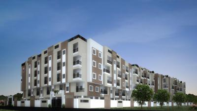 Gallery Cover Image of 733 Sq.ft 1 BHK Apartment for rent in DSMAX SHERWOOD, Gunjur Palya for 16500