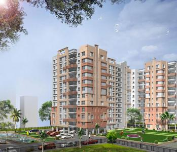 Gallery Cover Image of 1100 Sq.ft 2 BHK Apartment for rent in Space Clubtown Heights, Belghoria for 16000