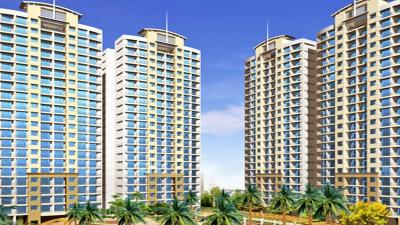 Gallery Cover Image of 620 Sq.ft 1 BHK Apartment for rent in K Raheja Heights, Malad East for 30000