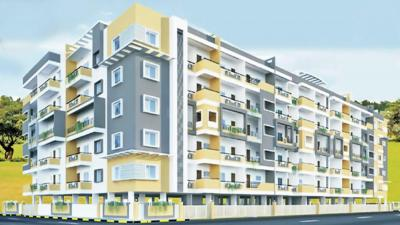 Gallery Cover Image of 1190 Sq.ft 2 BHK Apartment for rent in 7 Hills Paradise, Srinivaspura for 1500000