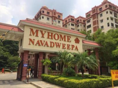 Gallery Cover Image of 2100 Sq.ft 3 BHK Apartment for rent in Navadweepa, Hitech City for 56000