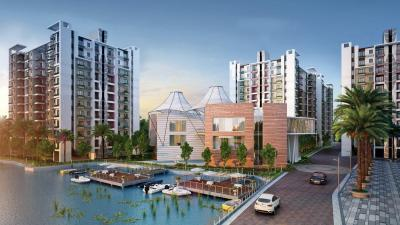 Gallery Cover Image of 1235 Sq.ft 3 BHK Apartment for rent in Siddha Water Front, Barrackpore for 18000
