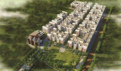 Gallery Cover Image of 1237 Sq.ft 2 BHK Apartment for buy in Prestige Courtyards, Sholinganallur for 7674000