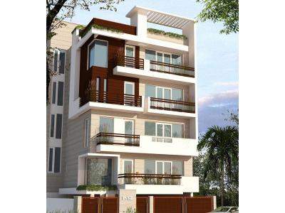 Gallery Cover Image of 910 Sq.ft 3 BHK Apartment for buy in Shree Radhe Krishana SRK Affordables And Luxury Homes, Uttam Nagar for 5100000