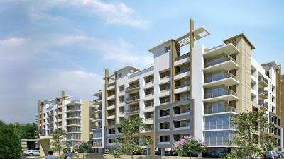 Gallery Cover Image of 1850 Sq.ft 2 BHK Apartment for rent in Wallfort Enclave II, Pachpedi Naka for 15500