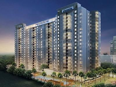 Gallery Cover Image of 1468 Sq.ft 2 BHK Apartment for rent in RMZ Galleria, Yelahanka for 35000