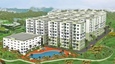 Gallery Cover Image of 1795 Sq.ft 3 BHK Apartment for rent in BK Oakwood Sky City , Aminpur for 15000