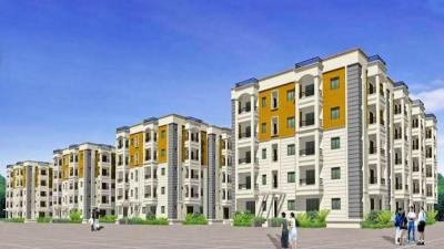 Gallery Cover Image of 1275 Sq.ft 2 BHK Apartment for buy in Srivathsa Mayfair Anthem, Bhoganhalli for 6800000