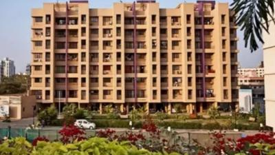 Gallery Cover Image of 550 Sq.ft 1 BHK Apartment for rent in Puraniks Hometown 1, Thane West for 15000