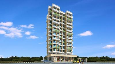 Gallery Cover Image of 725 Sq.ft 1 BHK Apartment for rent in Paradise Sai Sahil, Ulwe for 8500