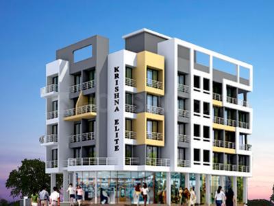 Gallery Cover Image of 410 Sq.ft 1 RK Apartment for buy in Krishna Krishna Elite, Ulwe for 2800000