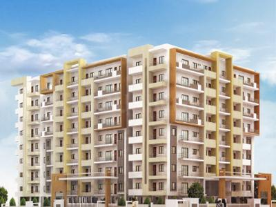 Gallery Cover Image of 1222 Sq.ft 2 BHK Apartment for rent in Aarush Arya, Srinivaspura for 13000