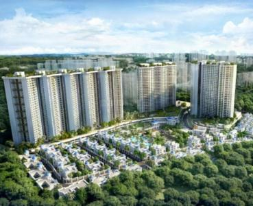 Gallery Cover Image of 1800 Sq.ft 3 BHK Apartment for buy in T Bhimjyani Neelkanth Woods Bungalow K 52, Thane West for 23000000