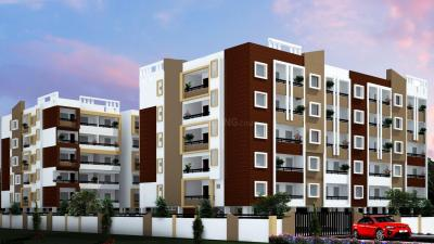 Gallery Cover Image of 1047 Sq.ft 2 BHK Apartment for buy in DSMAX SOLITAIRE, Horamavu for 4500000