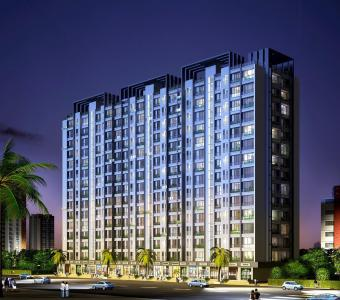 Gallery Cover Image of 202 Sq.ft 1 RK Independent Floor for buy in Dattani Linear Wing ABC Phase I, Vasai West for 3100000