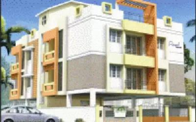 Gallery Cover Image of 1500 Sq.ft 3 BHK Apartment for rent in Colorhomes Royal Retreat, Perungudi for 22000