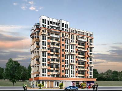 Gallery Cover Image of 650 Sq.ft 1 BHK Apartment for rent in Shelter Residency, Kharghar for 17000