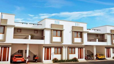 Gallery Cover Image of 1200 Sq.ft 3 BHK Independent House for buy in Shree Sharnam Residency, Koyali for 4500000