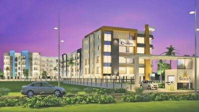 Gallery Cover Image of 1140 Sq.ft 2 BHK Apartment for rent in Genesis, Semmancheri for 15700