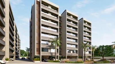 Gallery Cover Image of 1080 Sq.ft 2 BHK Apartment for buy in Nidhi Kuber Residency, Bhadaj for 5000000
