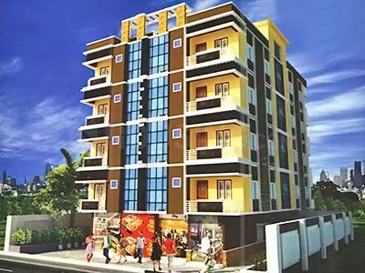 Gallery Cover Image of 750 Sq.ft 2 BHK Apartment for buy in Ramawati Rameshwaram, Panihati for 2150000