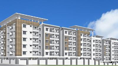 Gallery Cover Image of 1338 Sq.ft 3 BHK Apartment for rent in Majestic Vistas, Janachaitanya Colony for 20000
