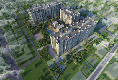 Gallery Cover Image of 1154 Sq.ft 2 BHK Apartment for buy in Prestige Willow Tree, Vidyaranyapura for 7439000