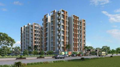 Gallery Cover Image of 1000 Sq.ft 2 BHK Apartment for rent in Sun Suryansh Solitaire, Shilaj for 14000