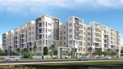 Gallery Cover Image of 1580 Sq.ft 3 BHK Apartment for rent in Begonia Homes, Puppalaguda for 28000