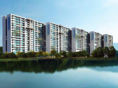 Gallery Cover Image of 659 Sq.ft 1 BHK Apartment for buy in SJR Blue Waters, Parappana Agrahara for 3550000