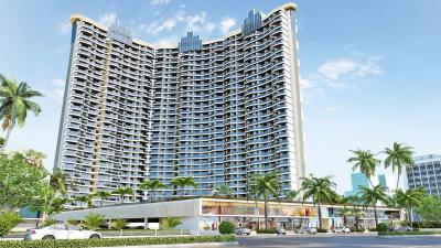 Gallery Cover Image of 1176 Sq.ft 2 BHK Apartment for buy in B and M Atlantis, Ghansoli for 17400000