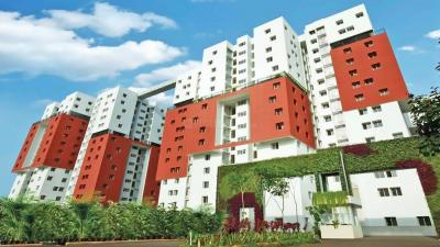 Gallery Cover Image of 1140 Sq.ft 2 BHK Apartment for rent in Osian Chlorophyll, Porur for 23000