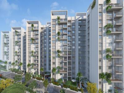 Gallery Cover Image of 1260 Sq.ft 2 BHK Apartment for buy in Spectra Raaya, Brookefield for 8200000