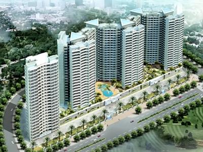 Gallery Cover Image of 1280 Sq.ft 3 BHK Apartment for rent in DB Orchid Suburbia, Kandivali West for 43000