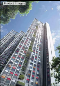 Gallery Cover Image of 1321 Sq.ft 3 BHK Apartment for buy in New Cuffe Parade Lodha Altia, Sion for 42500000