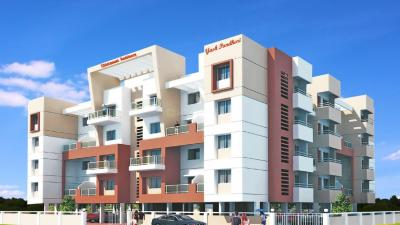 Gallery Cover Image of 650 Sq.ft 1 BHK Apartment for rent in J P S Chintamani Residency, Kirkatwadi for 5000