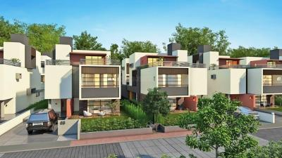 Gallery Cover Image of 3600 Sq.ft 4 BHK Villa for buy in Goyal Sky City, Shela for 21000000