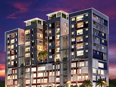 Gallery Cover Image of 1338 Sq.ft 2 BHK Apartment for buy in Ramky Atlantis, Nungambakkam for 18700000