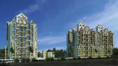 Gallery Cover Image of 2000 Sq.ft 3 BHK Apartment for buy in Goel Ganga Melrose, Ghorpadi for 23000000