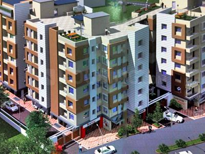 Gallery Cover Image of 1008 Sq.ft 3 BHK Apartment for buy in Orchid Gangour Residency, Keshtopur for 3225600