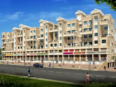Gallery Cover Image of 588 Sq.ft 1 RK Independent Floor for rent in Dharmavat Sunder Sankul, Dhayari for 50000