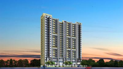 Gallery Cover Image of 675 Sq.ft 1 BHK Apartment for buy in Chandak Sparkling Wings, Dahisar East for 8000000
