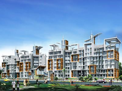 Gallery Cover Image of 1039 Sq.ft 2 BHK Apartment for buy in Campus, Ambernath West for 4200000