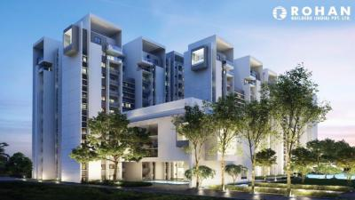 Gallery Cover Image of 1423 Sq.ft 3 BHK Apartment for buy in Rohan Akriti, Subramanyapura for 7400000