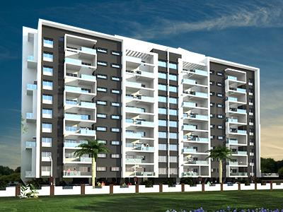 Gallery Cover Image of 911 Sq.ft 1 BHK Apartment for buy in Anand Rise Alta, Tathawade for 5000000